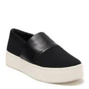 Vince Ward platform sneakers 8 black